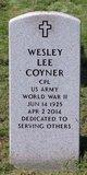 Profile photo:  Wesley Lee Coyner