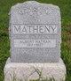 Profile photo:  Albert Nathan Matheny