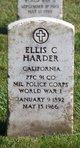 Profile photo:  Ellis C Harder
