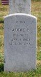 Profile photo:  Addie B Sparks
