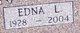 Edna Lorraine <I>Mingee</I> Pankey