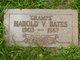"""Profile photo:  Harold V """"Gramps"""" Bates"""