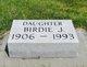 Profile photo:  Birdie J. Anderson