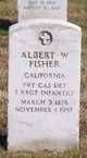 Albert W Fisher