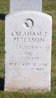 Profile photo:  Abraham F Peterson