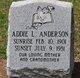 Addie <I>Lesesne</I> Anderson