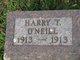 Profile photo:  Harry T O'Neill