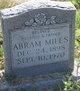 Profile photo:  Abram Miles