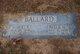 Profile photo:  Nellie May <I>Dallas</I> Ballard