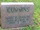 Mary Elizabeth Cummins