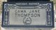 Cama Jane <I>Coats</I> Thompson