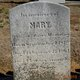 Mary <I>Peters</I> Manning