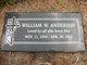 William W Anderson