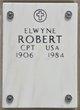 Profile photo: Captain Elwyn E Robert