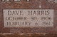 Profile photo:  Dave Harris Dipprey