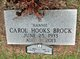 Profile photo:  Carol Gray <I>Hooks</I> Brock