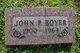 Profile photo:  John Phillip Boyer