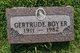 Gertrude Cecelia <I>Gillam</I> Boyer
