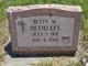Betty Mae Dethlefs