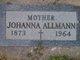 Johanna <I>Herder</I> Allmann
