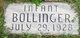 Infant Bollinger