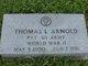 """Thomas L. """"Bud"""" Arnold"""