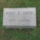 Profile photo:  Mary Elizabeth <I>Pratt</I> Faris