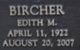 Edith M Bircher