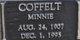 Minnie Coffelt