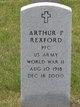 Profile photo:  Arthur P. Rexford