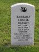 Profile photo:  Barbara Louise <I>Fernandez</I> Baron