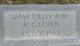 Sarah Ann <I>Stilley</I> Albin