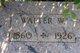 Walter W Adams