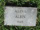 Profile photo:  Allen Leonard Albin