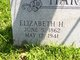 Elizabeth Jeffries <I>Hackler</I> Harris