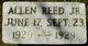 Allen Reed, Jr