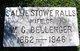 Sallie Stowe <I>Ralls</I> Bellenger