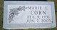 Profile photo:  Marie E. <I>Dye</I> Corn