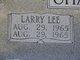 Larry Lee Chancellor