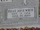 Peggy <I>White</I> Duncan