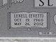 Lenell <I>Evett</I> Sliger