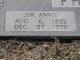 Jim Annie <I>Moore</I> Phillips