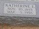 Katherine Elizabeth <I>Anderson</I> Mathison