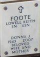 Profile photo:  Donna J Foote