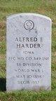 Alfred F Harder