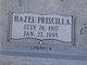 Hazel Priscilla <I>Carmack</I> Moore
