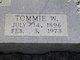 "Thomas William ""Tommie"" Moore"