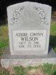 Profile photo:  Addie <I>Gwinn</I> Wilson
