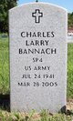 Profile photo:  Charles Larry Bannach