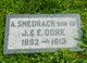 Profile photo:  A. Shedrock Dore